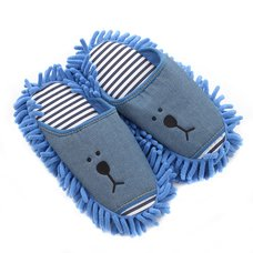 Mofu Mofu Denim Slippers