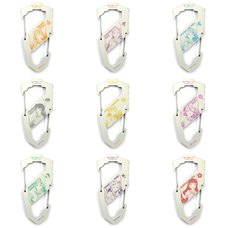 Love Live! Sunshine!! Character S-Shaped White Carabiner