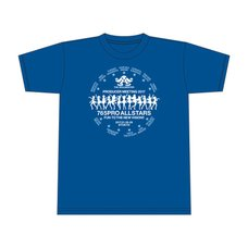 Idolm@ster Producer Meeting 2017 Official T-Shirt - Blue