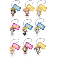 The Idolm@ster Cinderella Girls Acrylic Keychains w/ Display Stands Box Set