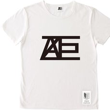 ANREALAGE x Attack on Titan Collaboration Logo Ver. T-Shirt