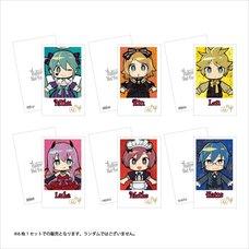 Hatsune Miku Halloween mago Ver. Polaroid-Style Card Set