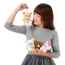 Nuikuma no Chikku Bear Plush Collection (Ball Chain)