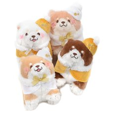 Chuken Mochi Shiba Hokkori Cape Sukutto Plush Collection