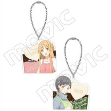 Sword Art Online the Movie: Ordinal Scale Acrylic Keychain Charm Collection
