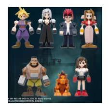 Final Fantasy VII Polygon Mini Figure Box Set