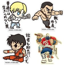 Capcom x B-Side Label Final Fight Sticker Collection