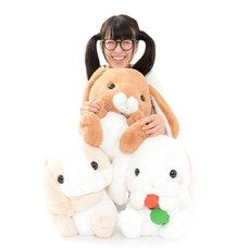 Pote Usa Loppy Field Rabbit Plush Collection (Big)