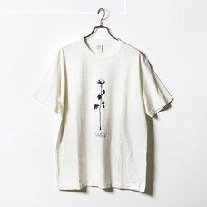 memorabilia Blue Pigment Dye T-Shirt
