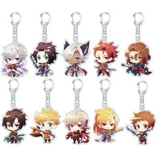 Granblue Fantasy Summer Fes 2018 Acrylic Keychain Collection