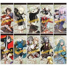Touken Ranbu Memo Pad Collection