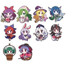 Touhou Project Yurutto Touhou Acrylic Keychain Charm Collection Vol. 5