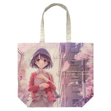 Saekano: How to Raise a Boring Girlfriend Fine Megumi Kato Full Graphic Large Tote Bag