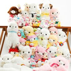 Snuggle! Display! Smile! - Alpacasso Endless Cuddles 100 Alpaca Plush Set