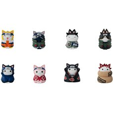 Naruto Nyaruto! Cats of Konoha Village w/ Premium Can Mascot Box Set