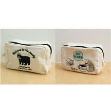 CouCou Animal Square Pouches