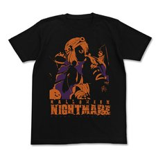 The Idolm@ster Cinderella Girls Halloween Nightmare Koume Shirasaka Black T-Shirt