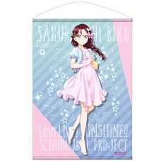 Love Live! Sunshine!! Riko Sakurauchi Pajamas Ver. B2-Size Wall Scroll
