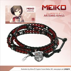 Meiko Leather Wrap Bracelet