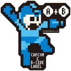 Capcom x B-Side Label Mega Man Stickers