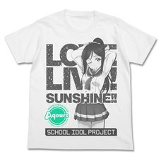 Love Live! Sunshine!! Kanan Matsuura White T-Shirt