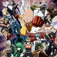One-Punch Man Key Art 2 Premium Wall Scroll