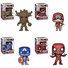 Pop! Games: Marvel: Contest of Champions Set