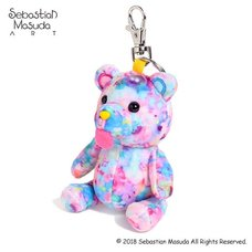 6%DOKIDOKI Time After Time Capsule -Bear- #Day Dream Mini Mascot Keychain Charm