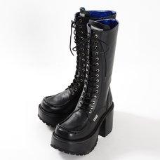 YOSUKE USA Knee-High Platform Boots