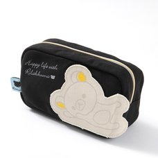 Rilakkuma Die-Cut Pocket Canvas Pen Pouch
