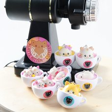 Latte Kitten Coffee New Flavor 2nd Cup (Ball Chain)