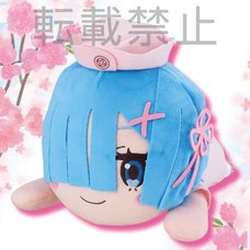 Mega Jumbo Lying Down Plush Re:Zero -Starting Life in Another World- Rem: Pink Nurse