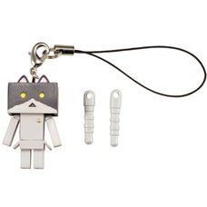 Nyanboard Strap Charm - Black Bicolor