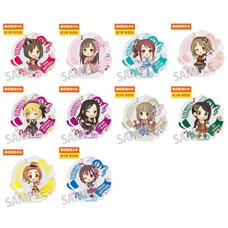 The Idolm@ster Cinderella Girls 5th Live Tour Serendipity Parade!!! Official Producer Badges - Group D