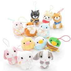 Puchimaru All-Stars Animal Plush Collection