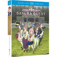 Sakura Quest: Part 1 Blu-ray/DVD Combo Pack