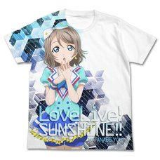 Love Live! Sunshine!! You Watanabe White Graphic T-Shirt
