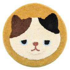 Fluffy Animals Round Mat Collection