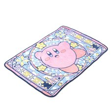 Kirby Stained Glass Pattern Blanket