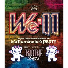 Original Entertainment Paradise Ore Para 2018 We'lluminate☆PARTY Kobe Blu-ray
