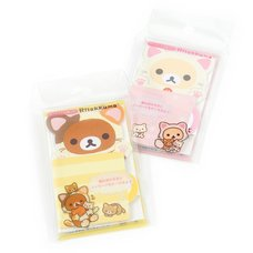 Rilakkuma Motto Nonbiri Neko Die-Cut Sticky Notes