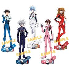 Rebuild of Evangelion Plugsuit 2019 Acrylic Stand Collection