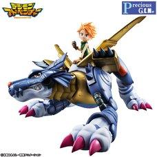 Precious G.E.M. Series Digimon Adventure Metal Garurumon & Yamato Ishida