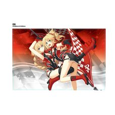 ApocryphaRacing Jeanne d'Arc & Mordred Big Towel