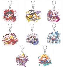 Touhou Project Mokyu Fuwa Acrylic Keychains