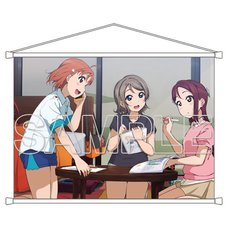 Love Live! General Magazine Vol. 2: Love Live! Sunshine!! Aqours Second-Year Students Ver. 2 B2-Size Tapestry