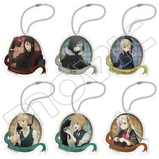 Lord El-Melloi II's Case Files B6 Acrylic Keychain Collection Box Set