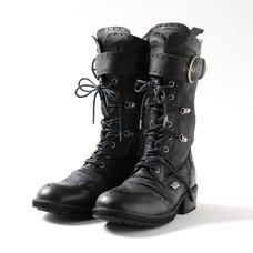 YOSUKE 2015SS Laced WIngtip Boots