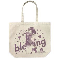 Saekano: How to Raise a Boring Girlfriend Flat Megumi Kato Natural Large Tote Bag