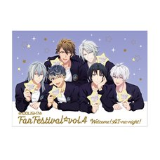 IDOLiSH 7 Fan Festival Vol. 4: Welcome! Ai na Night! Leaflet